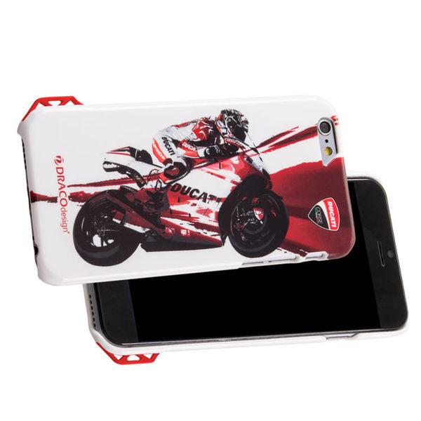 ★送原廠摺疊手機背蓋★DRACOdesign x DUCATI iPhone 6(4.7吋)聯名保護殼/Moto GP1