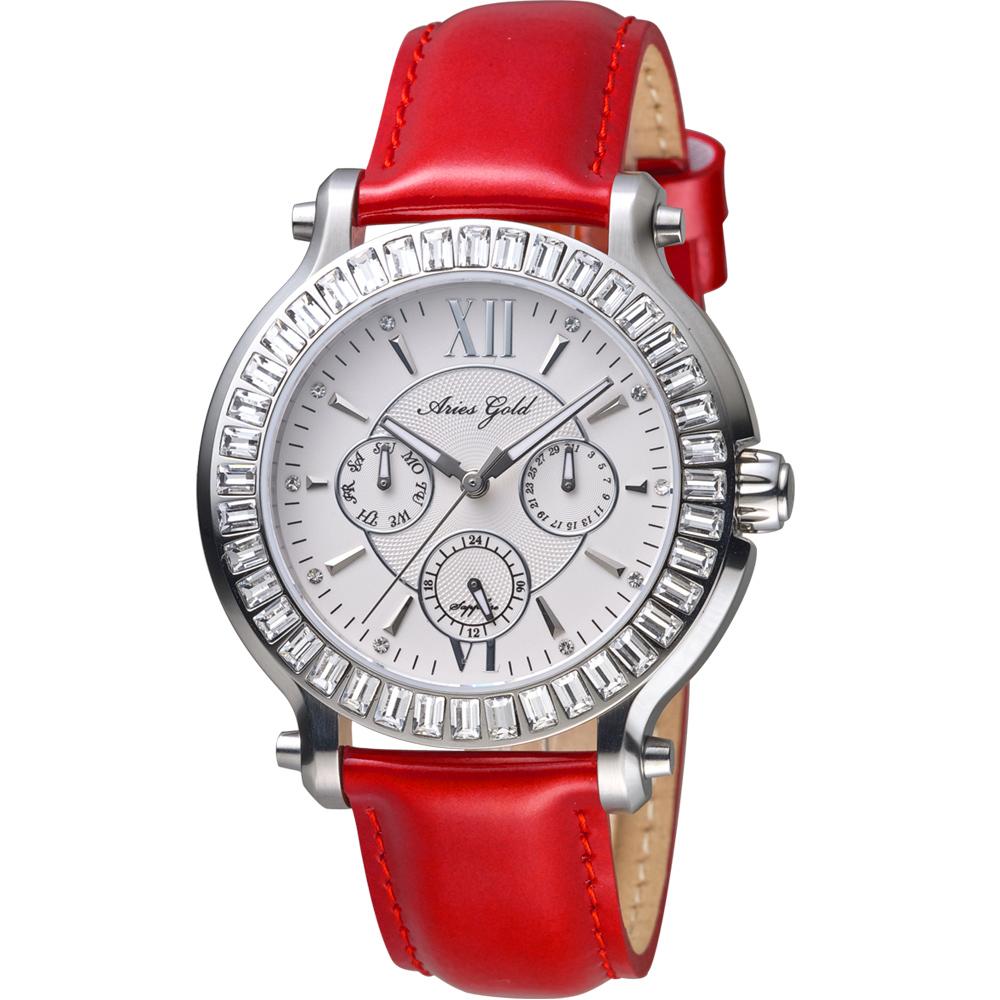 Aries Gold雅力士 ROSA 魅惑系列高貴腕錶    L 1159 S-W