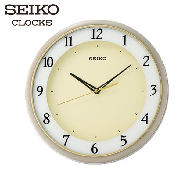 SEIKO精工掛鐘法式優雅數字靜音掛鐘滑動秒針靜音鐘公司貨QXA683J名人鐘錶高雄門市