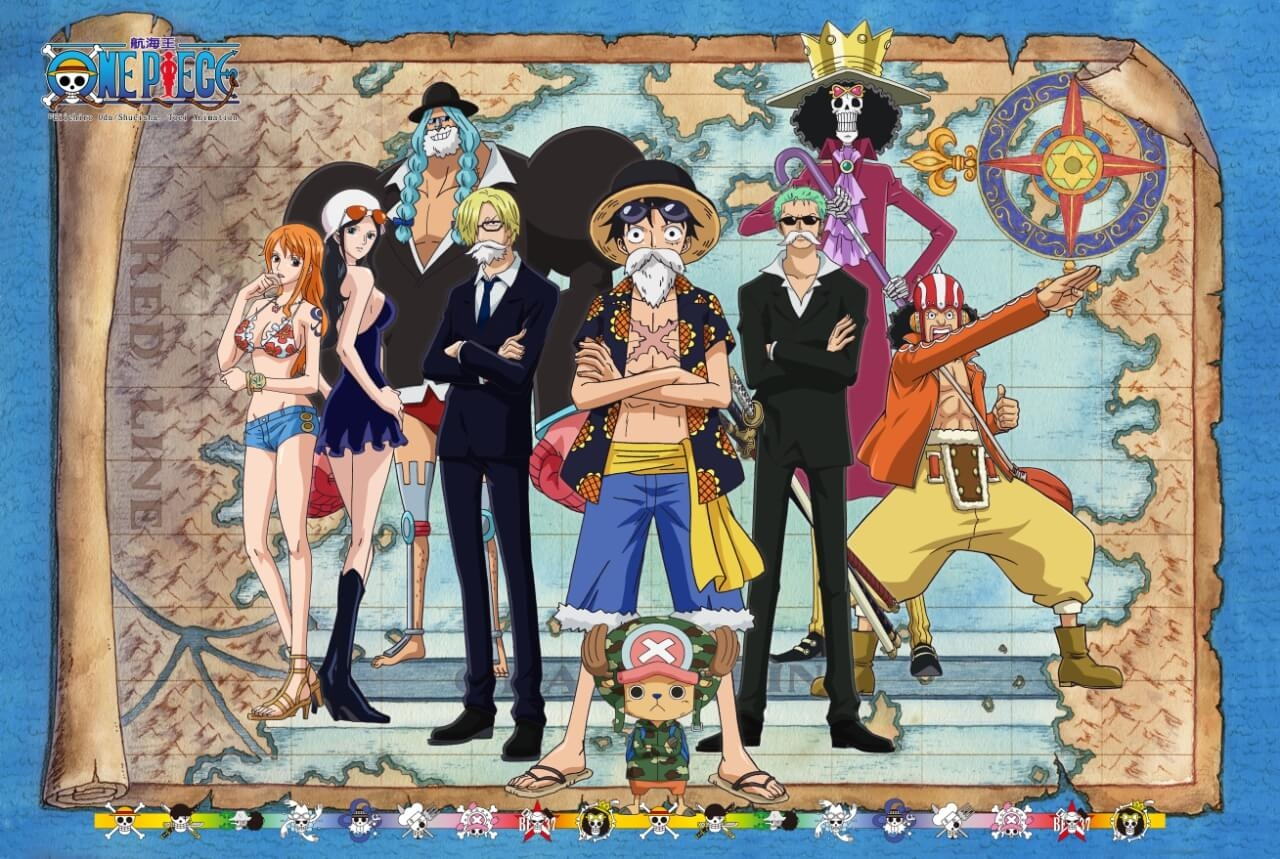 拼圖總動員PUZZLE STORY航海王-德雷斯羅薩PuzzleStory海賊王One Piece 1000P