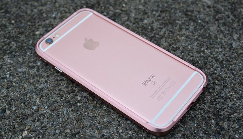 【贈玻璃貼】DEVILCASE 惡魔鋁合金 保護框 iPhone 6 6s plus 5.5吋 保護殼 金屬邊框 玫瑰金 iPhone6s