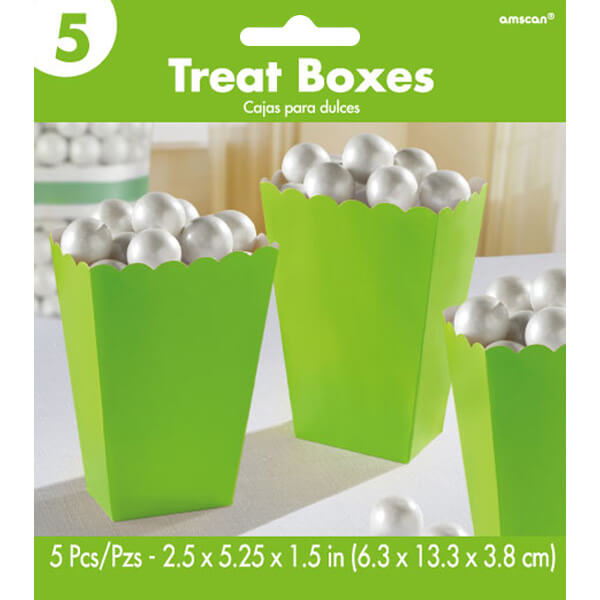 5.25吋爆米花盒5入-奇異果綠