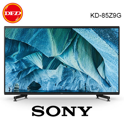 贈北區精緻壁裝 SONY 索尼 KD-85Z9G 日本製 85吋8K OLED 液晶電視 公司貨 85Z9G