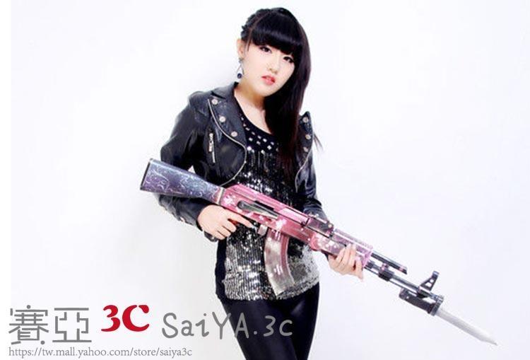 紙模型AK47步槍3D紙模型立體拼圖