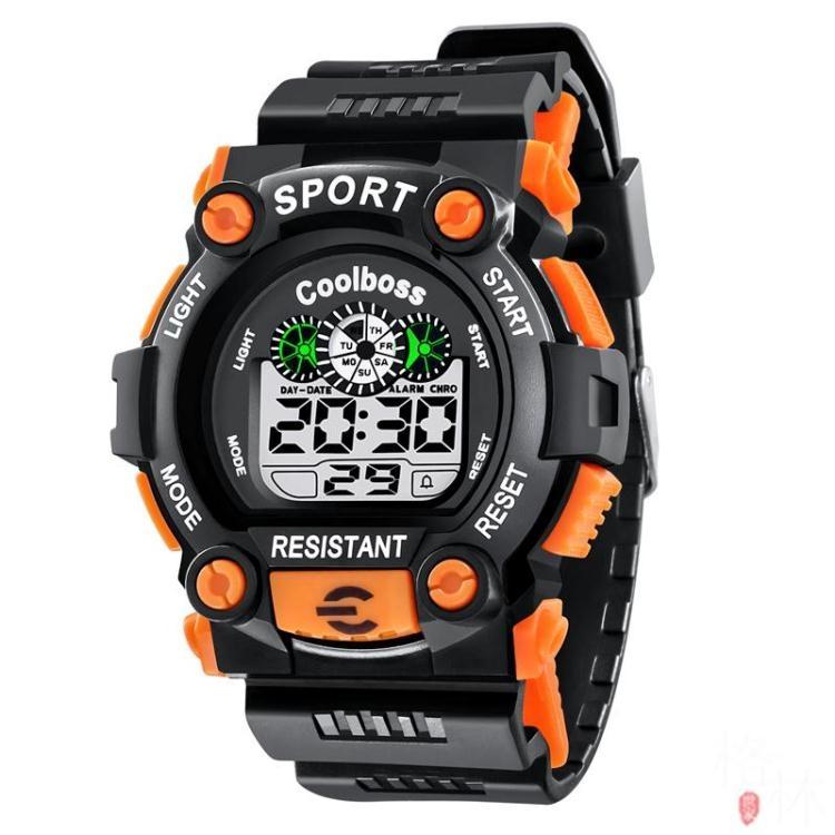 戶外防水運動手表登山防水電子表多功能FS5123