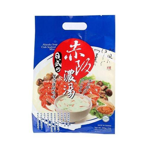 廣吉赤阪濃湯-蟹肉海鮮味噌20g*10包愛買
