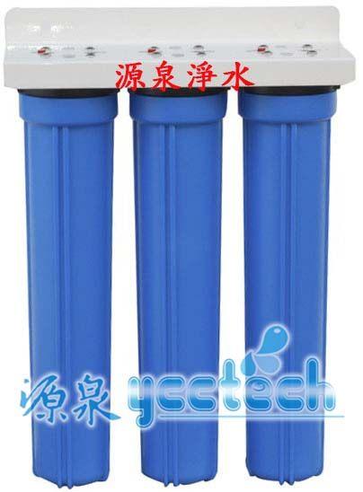 【軟水.除水垢.除氯.除泥沙】台製全屋戶式水塔淨水設備系統20英吋小胖過濾淨水器