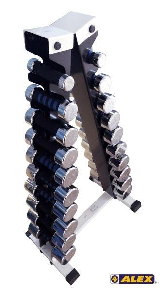 Alex -A01新型泡棉電鍍啞鈴架(不含啞鈴)