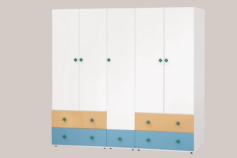 8號店鋪 森寶藝品傢俱  649-7 (512) 艾文斯1.4尺衣櫥   (附活動隔板3片)(左2)
