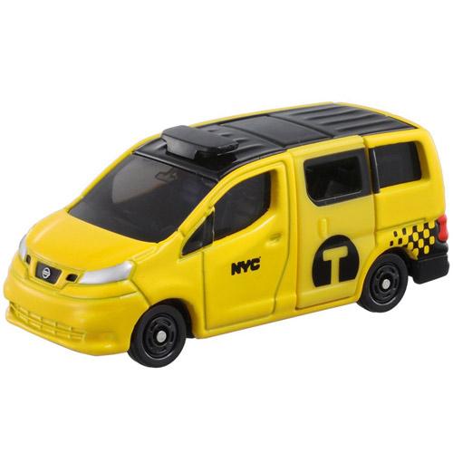 TOMICA 多美小汽車NO.027 日產NV200 紐約計程車_TM027A4
