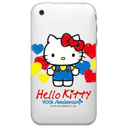Hello kitty手機彩繪包膜DIY機身貼40週年愛心系列1304保護貼