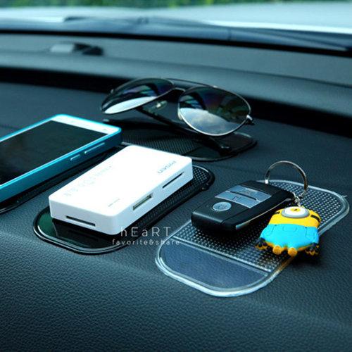 汽車用手機小物矽膠防滑墊 車子防滑墊 車內防滑墊 杯墊 手機 平板 止滑墊