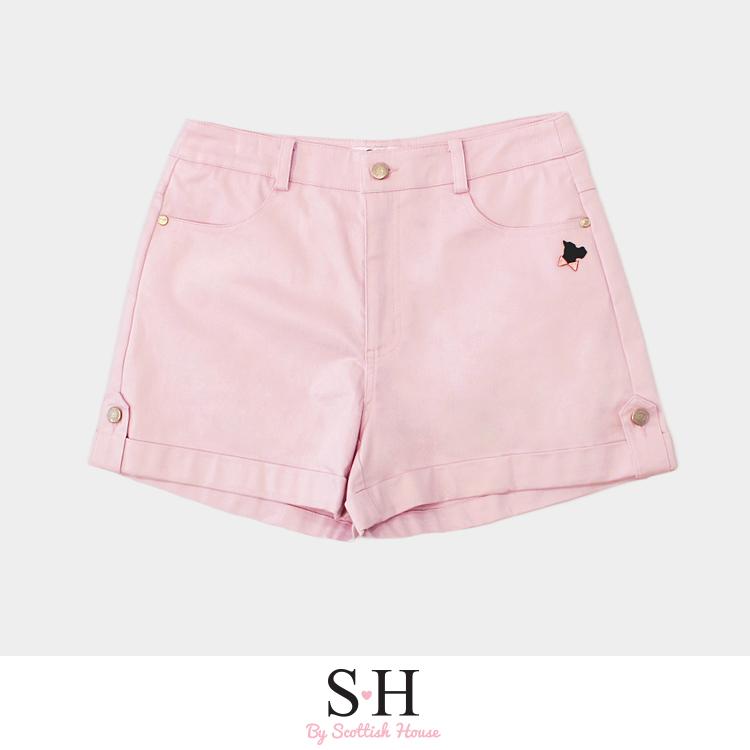 織標狗牛仔短褲 Scottish House【SA2303】