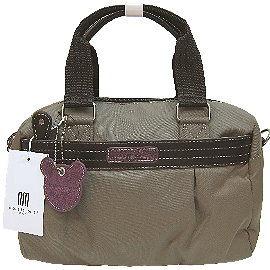 【波克貓哈日網】日系流行2用包◇nicolettamoretti◇《棕綠色》手提包斜背包