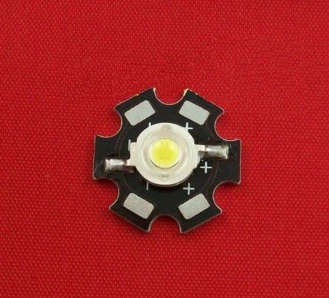 diy led燈珠 批發館100入起定每入16 1W 白光 LED,1Wled 白光 80-90LMLED (帶基板)高亮度led