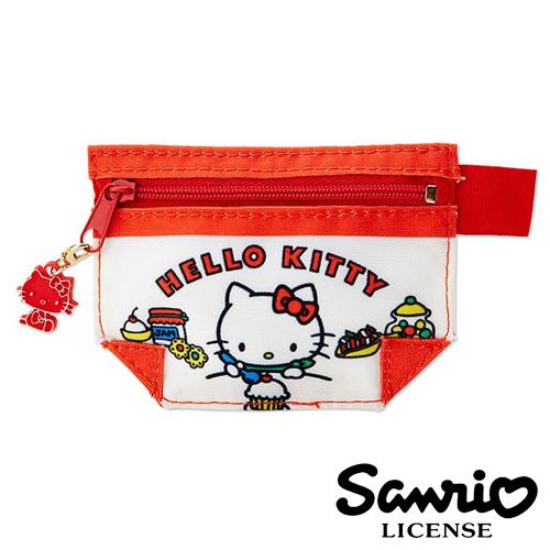 【日本正版】Hello Kitty 凱蒂貓 Kitty甜點款 零錢包 零錢袋 錢包 Sanrio - 856064