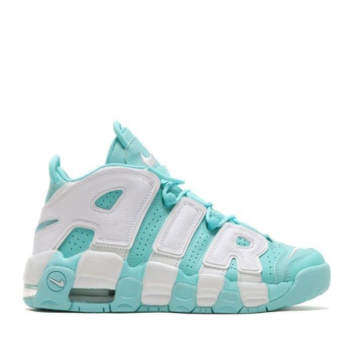 蟹老闆Nike Air More Uptempo Pippen大AIR蒂芬妮綠女鞋
