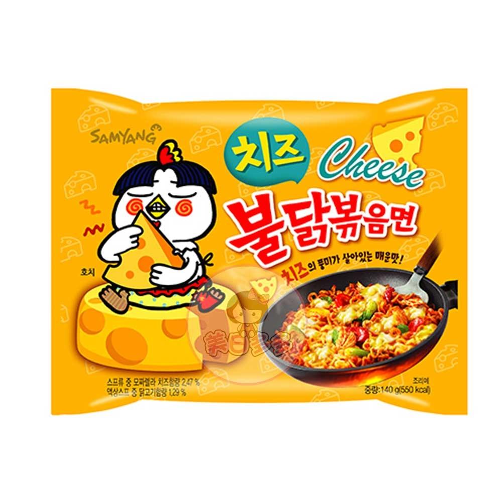 韓國 SamYang 三養( 起司)辣雞肉風味麵 辣雞麵 韓國泡麵 進口泡麵 (單包入) 【美日多多】