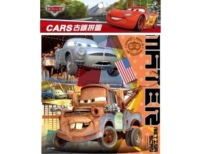 【台灣製】古錐拼圖-Cars 2 M(12片) #QFC28M