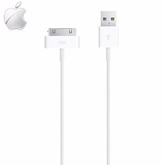 YUI Apple原廠傳輸線iPhone 4 iPhone 4S New iPad 2 iPod Touch 3原廠充電線連接線數據線裸裝