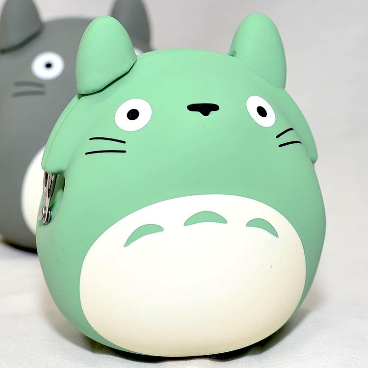 TOTORO龍貓造型矽膠零錢包mimi POCHI日本正版