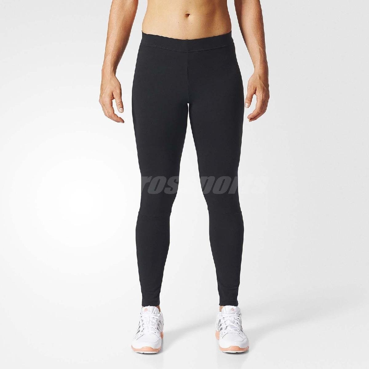 adidas束褲Essentials Linear Tights基本款女款黑白緊身運動長褲Legging內搭PUMP306 S97155