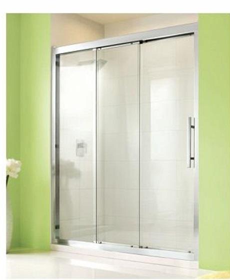 麗室衛浴美國KOHLER Stance系列K-45711T-L-SHP一字型三片式單方向橫推門150*H190CM