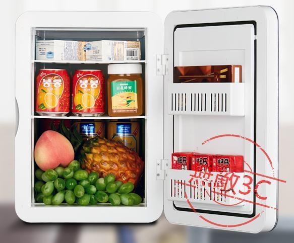 12V車載冰箱迷你小型冰箱制冷220v小功率75w家用冰箱無敵3C旗艦店