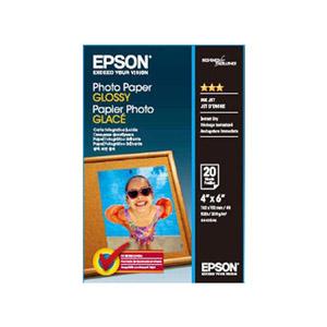 EPSON  4x6超值光澤相紙S042546 (20入)【限時!買一送一】