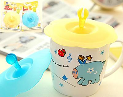防漏杯蓋韓版可愛矽膠杯蓋碗蓋家用防塵蓋萬能杯蓋水杯蓋子 19元