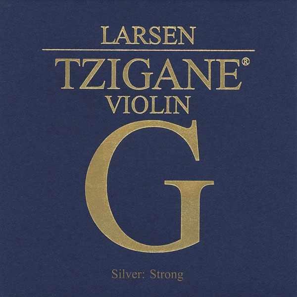 小叮噹的店- 小提琴弦 (第四弦 G弦) 丹麥 Larsen Tzigane 深藍 T5524
