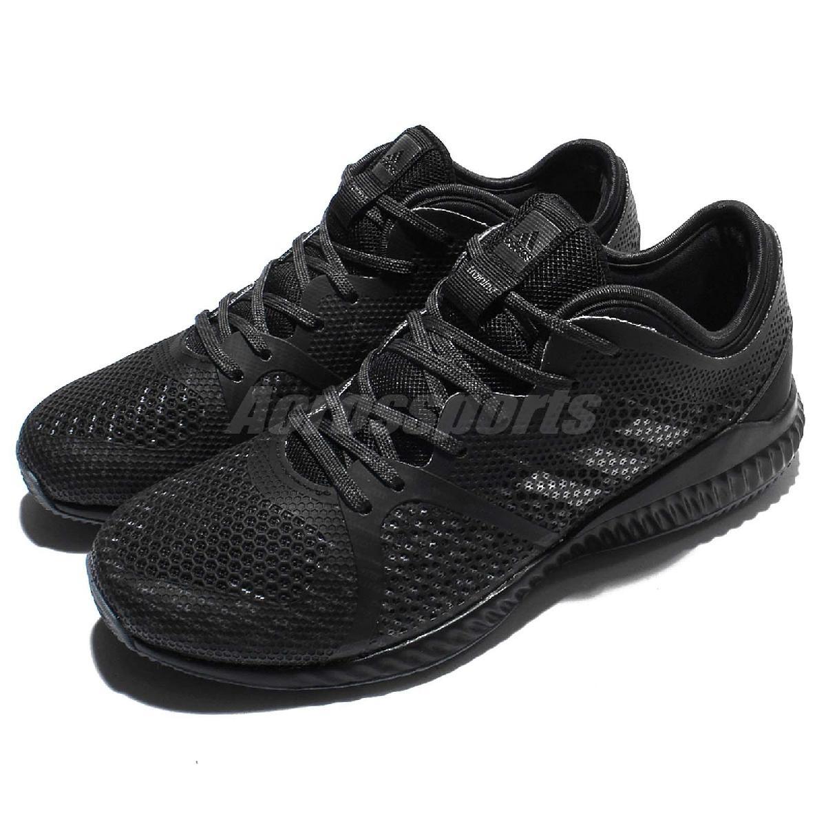 adidas 訓練鞋 CrazyTrain Pro 黑 白 全黑 健身專用 女鞋 運動鞋【PUMP306】 BA9815