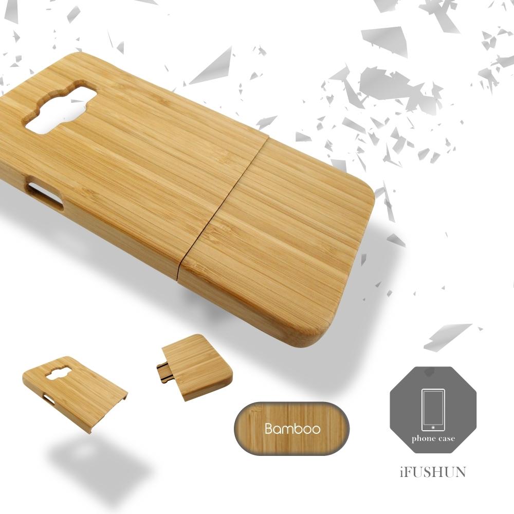 iFUSHUN Wooden case for SAMSUNG A7手機殼實木手機殼原木手機殼木作殼