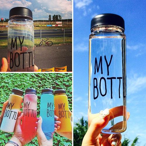 00044韓國TROT戀人My bottle創意隨行杯檸檬杯含收納袋