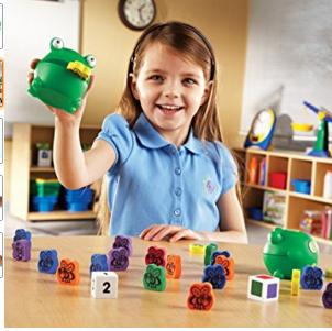 青蛙夾夾樂兒童幼兒教具教學道具設備感官感覺統合訓練運動平衡手眼協調遊戲