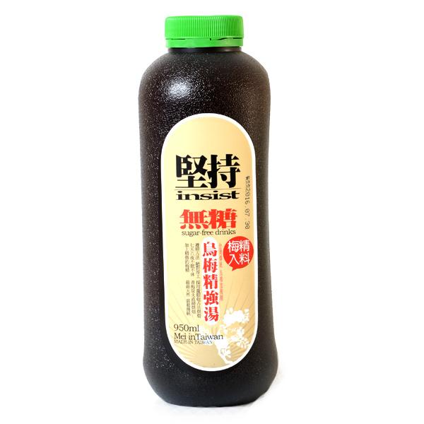 台灣【信義鄉】無糖烏梅精強湯 950ml
