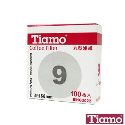 【Tiamo】丸型濾紙#9 / 100入(HG3022)