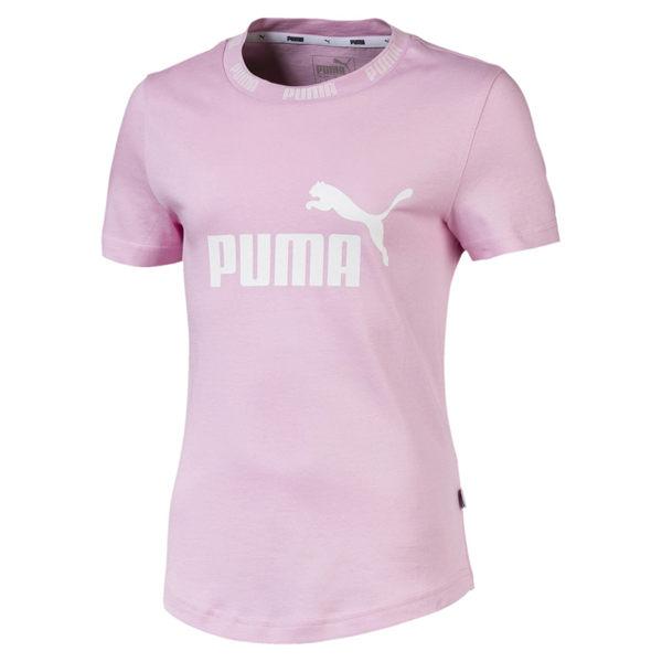 Puma 粉色 兒童 童裝 女裝 短袖 運動上衣 短T 排汗 透氣 運動 上衣 短袖 85428421