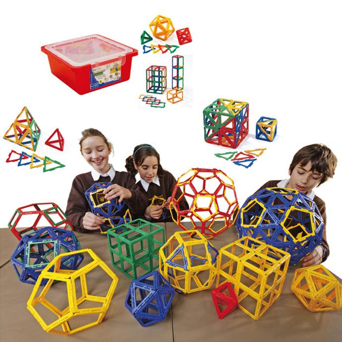 華森葳兒童教玩具建構積木系列-英皇寶利智慧片-空心進階組N9-22X