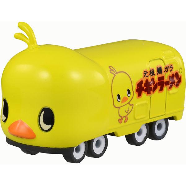 Dream TOMICA多美夢幻版小汽車No.151元祖雞日清小雞巴士HIYOKO CHAN BUS TAKARA TOMY