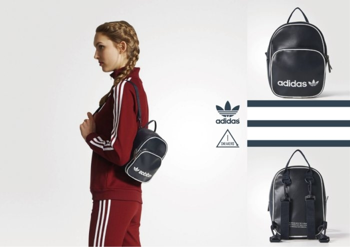 Adidas originals mini backpack 皮質 迷你 後背包 墨藍 BQ8099
