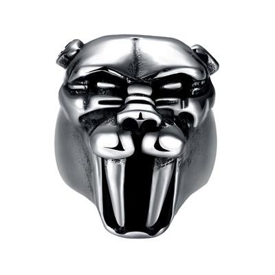 鈦鋼戒指美洲豹-霸氣復古搖滾龐克七夕情人節生日禮物男飾品73le180時尚巴黎