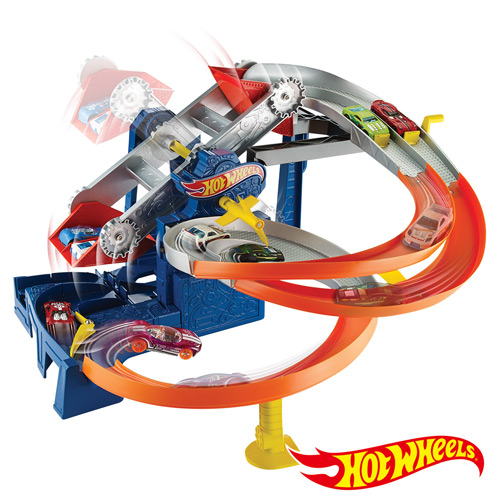 Hot Wheels 風火輪小汽車 摩天輪動力軌道組 美泰兒正貨