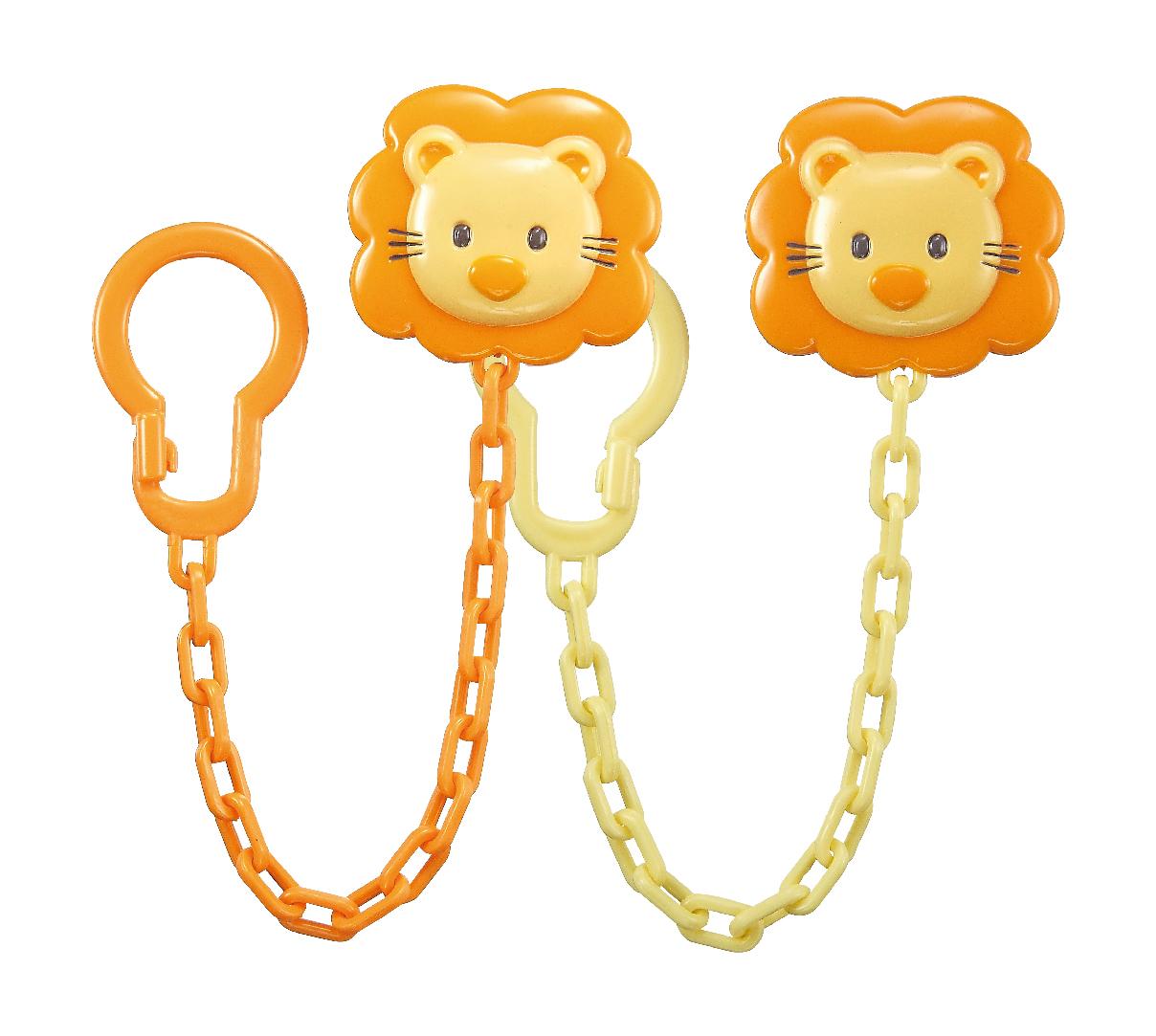 小獅王辛巴Simba造型奶嘴鍊