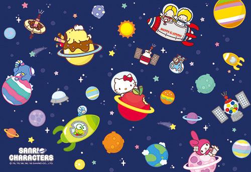P2拼圖Sanrio Characters太空B拼圖300片-107 HP0300S-107