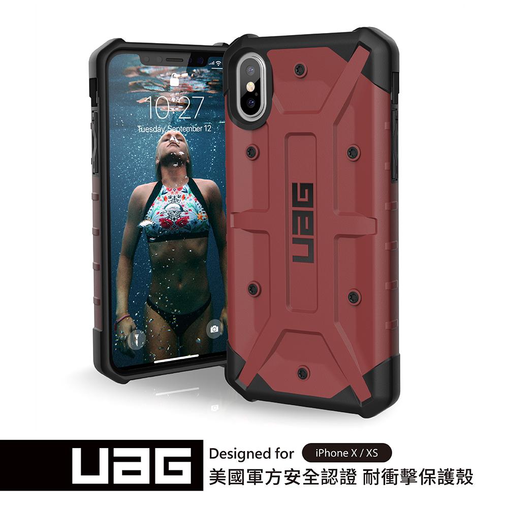 UAG iPhone X/XS 耐衝擊保護殼-紅