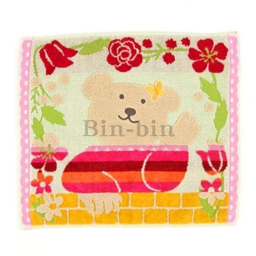 彩虹熊 方巾/825-591