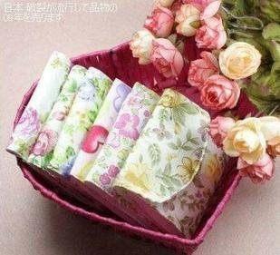 純棉三折式私密衛生棉包衛生巾袋衛生巾收納包