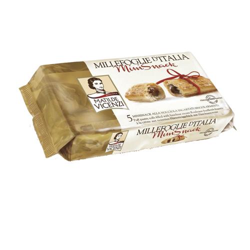 維西尼MINI榛果奶油千層酥125g愛買