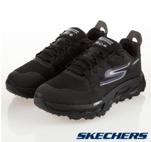SKECHERS系列-GO TRAIL ULTRA 4 女款黑色運動鞋-NO.15246BBK